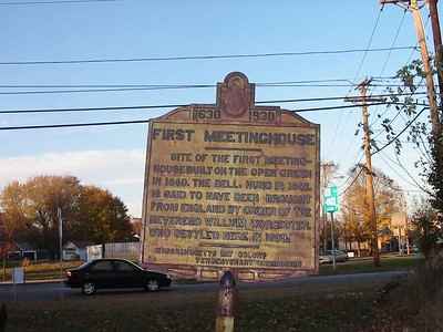 First Meetinghouse, Route 110, Salisbury
