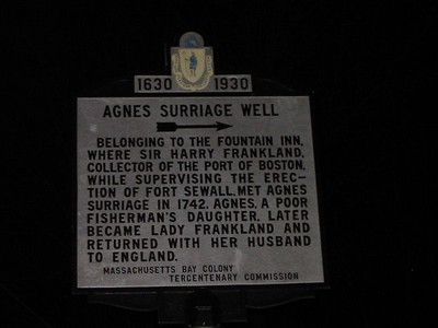 Agnes Surriage Well, Orne St, Marblehead
