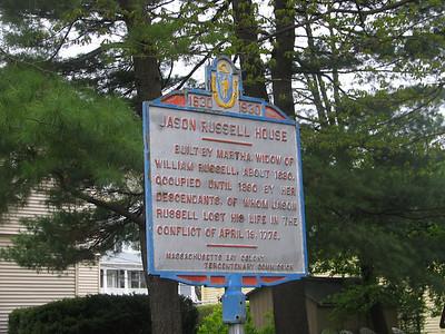 Jason Russell House, Massachusetts Ave and Jason St, Arlington