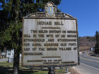 Indian Hill, Route 9, Brimfield