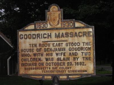 Massachusetts Tercentenary Signs