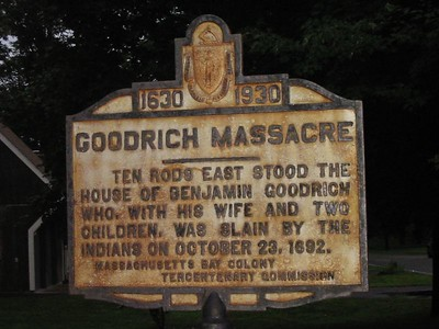 Goodrich Massacre, North St, Georgetown
