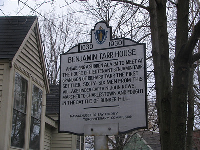 Benjamin Tarr House, South St, Rockport