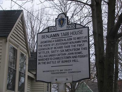 Benjamin Tarr House, South St, Rockport