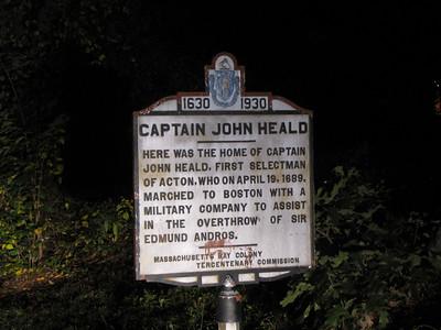 Captain John Heald Carlisle Rd ACTON