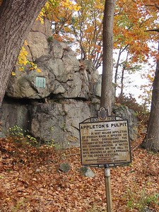 Appleton's Pulpit, Appleton St., Saugus, MA