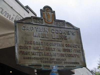 Captain Cooke's Mill Lane, Arlington