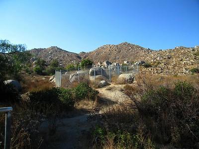 Maze Stone enclosure, 9 Oct 2005