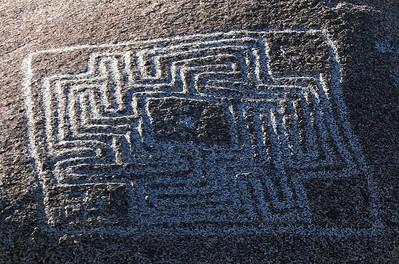 Maze Stone, close-up, 9 Oct 2005