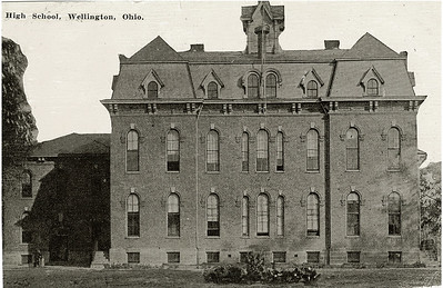 The original Wellington School. PHOTO PROVIDED