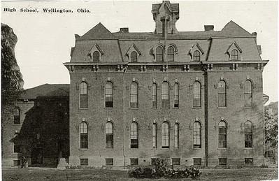 The original Wellington School. PHOTO PROVIDED