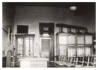 A chemistry lab at Wellington High School, circa 1934. PHOTO PROVIDED