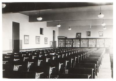 Study hall at Wellington High School, circa 1934. PHOTO PROVIDED