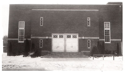 The auditorium at Wellington School; circa 1940. PHOTO PROVIDED