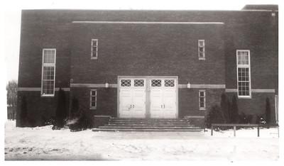 The auditorium at Wellington School; circa 1940. PHOTO PROVIDED