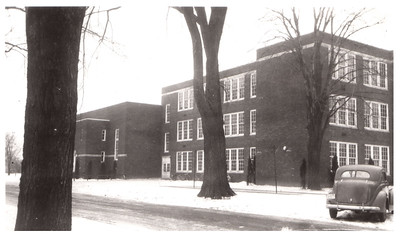 The north side of Wellington School, circa 1940. PHOTO PROVIDED