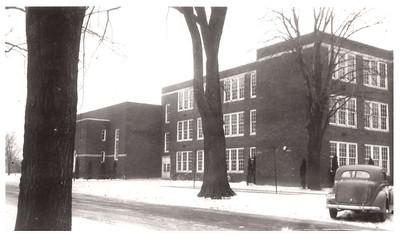 The north side of Wellington School, circa 1940. PHOTO PROVIDED