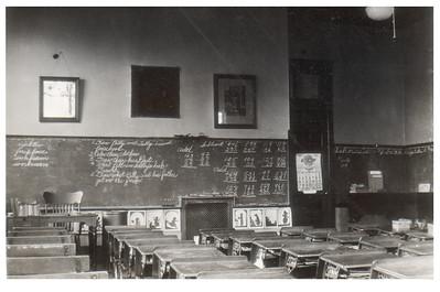 A classroom at Wellington High School, circa 1934. PHOTO PROVIDED