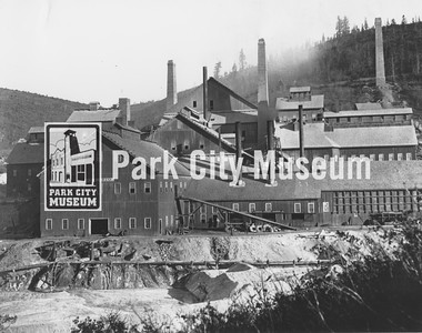 Eastern view of the Ontario Mill, ca.1900s (Image: digi-3-148, Jordanelle Special Service District Digital Collection)