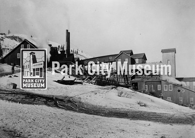The Daly West Mine in Deer Valley, ca.1910s. (Image: 1999-4-61, Park City Mountain Resort Collection)