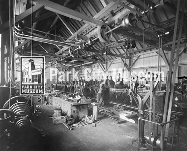 Machine shop at the Daly Judge, ca.1920 (Image: digi-2-4318, Himes-Buck Digital Collection)