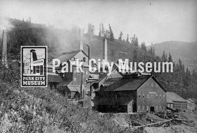 The great Ontario Mine that put Park City on the map, ca.1890s. (Image: 1990-5-18, Leon Stanley Collection)