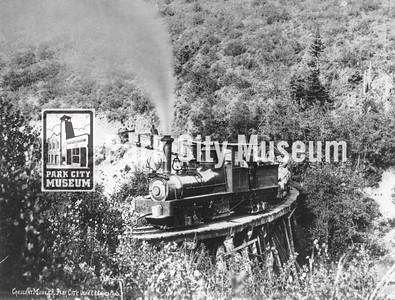 Crescent Tramway, ca.1900s (Image: digi-3-105, Jordanelle Special Service District Digital Collection)