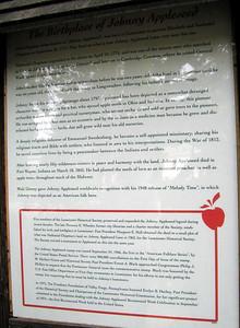 Johnny Appleseed Memorial, Leominster, Massachusetts, 7 Aug 2007