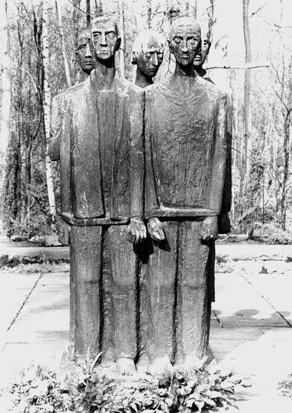 Memorial sculpture created by Jurgen von Woyski, 1964