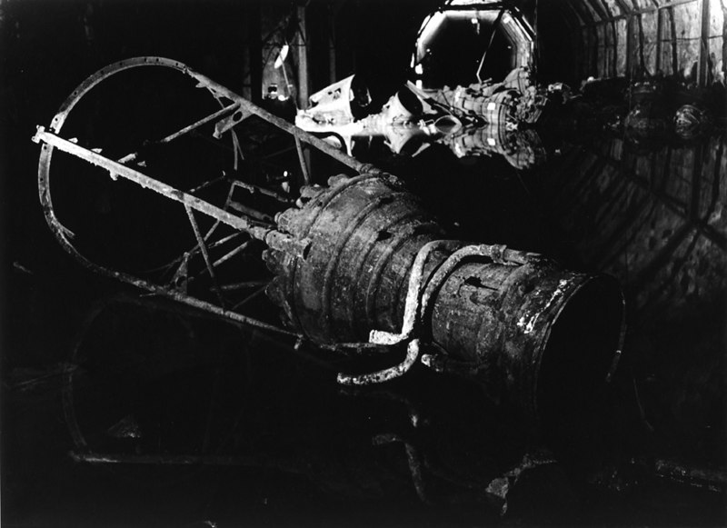 V-2 rocket engine, assembly chamber 29