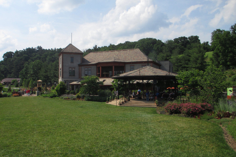 Another of the main attractions at the Biltmore Estate is Antler Hill, which houses the old farm and Biltmore Winery...