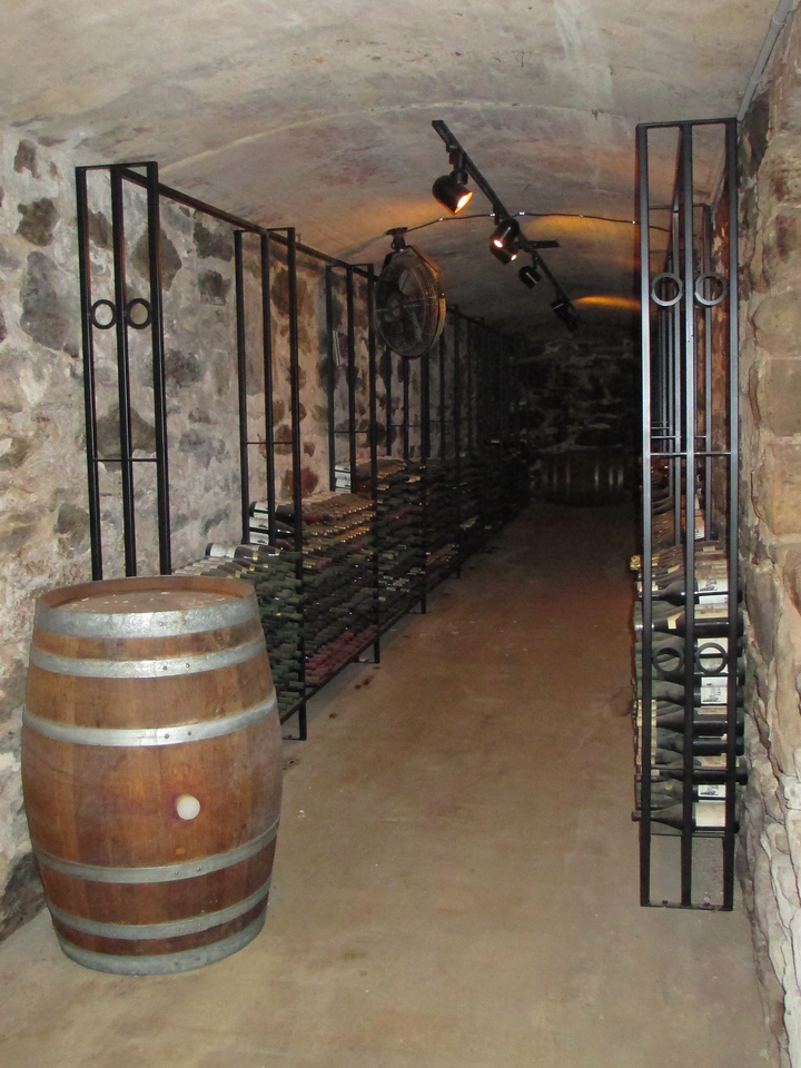 The winery doesn't actually date back to the time of Vanderbilt, it didn't open until the 1980's.  It has since then become synonymous with the Estate, producing some of the finest wines in all America...