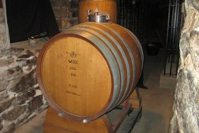 What can I say but...it's a wine barrel...