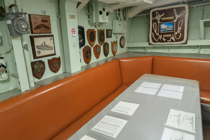 U.S.S. The Sullivans -- Chief Petty Officers Mess
