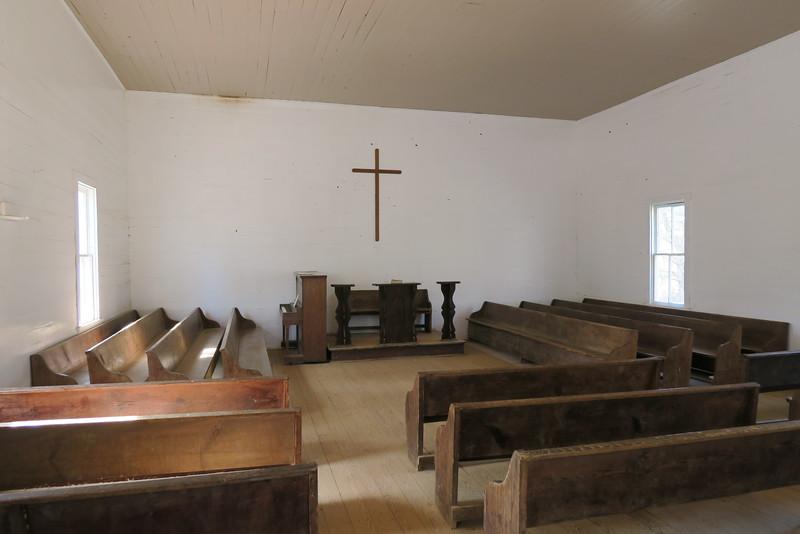 Methodist Church (ca. 1902) - Interior