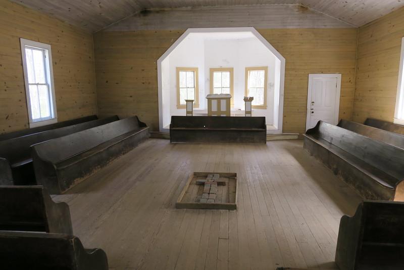Missionary Baptist Church (ca. 1915) - Interior