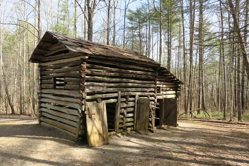 Elijah Oliver Place (ca. 1860's) - Barn