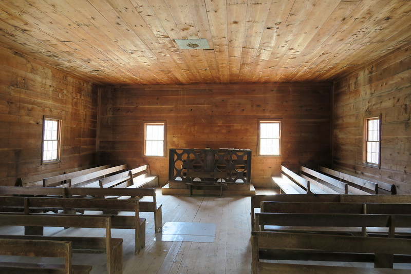 Primitive Baptist Church (ca. 1887) - Interior