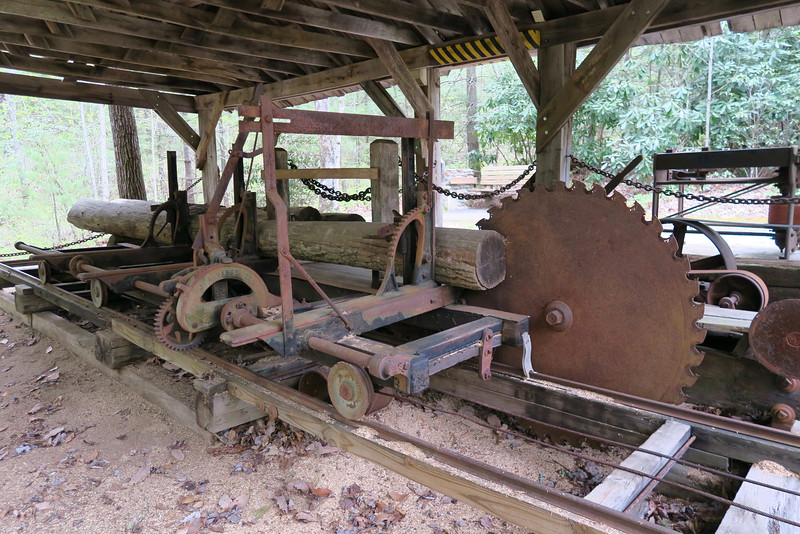 Forest Festival Trail -- Portable Sawmill