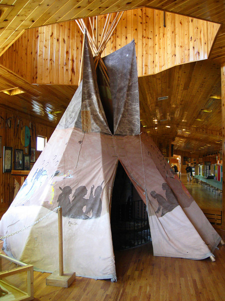 Tipi, Indian Museum of North America...