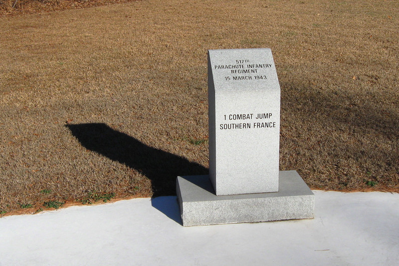 517th Parachute Infantry Regiment Monument...