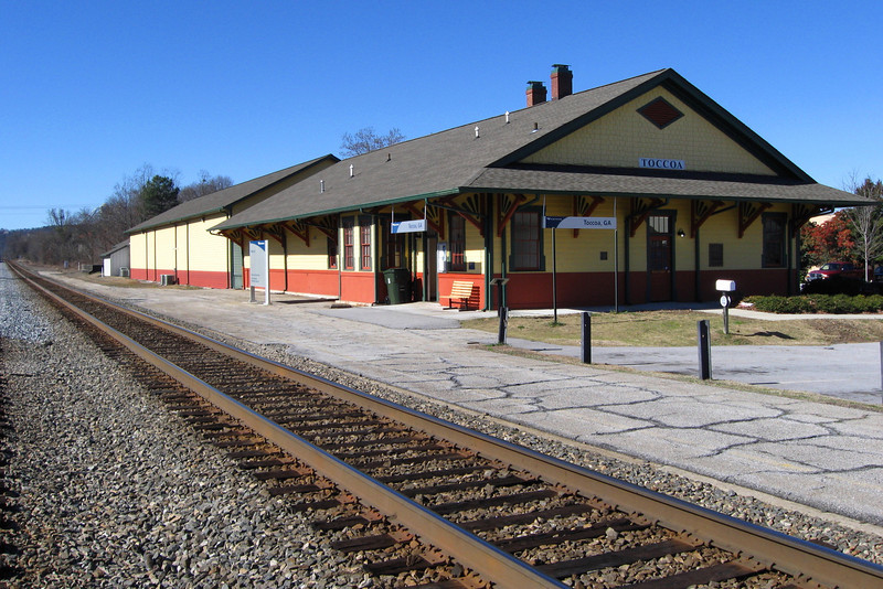 Toccoa, GA Train Depot (Currahee Military Museum)