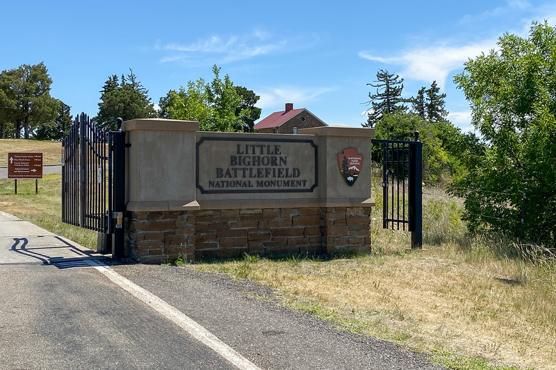 Little Bighorn Battlefield National Monument Entrance