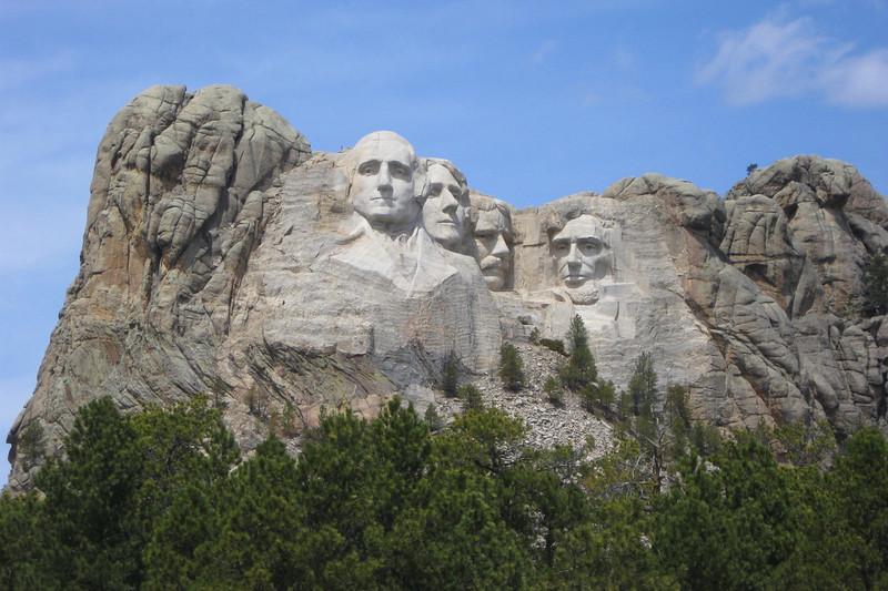 Mount Rushmore National Memorial, SD (5-6-11)