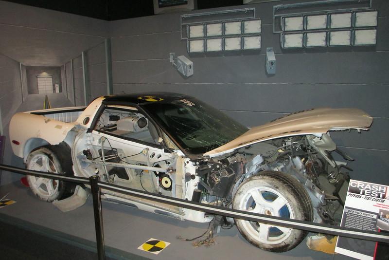 2010 Corvette Crash Test Model P17Y056