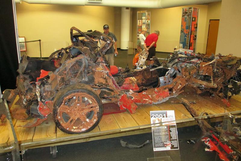 """The Great 8 Sinkhole Cars"" - 2001 Mallett Hammer ZO6 Corvette"