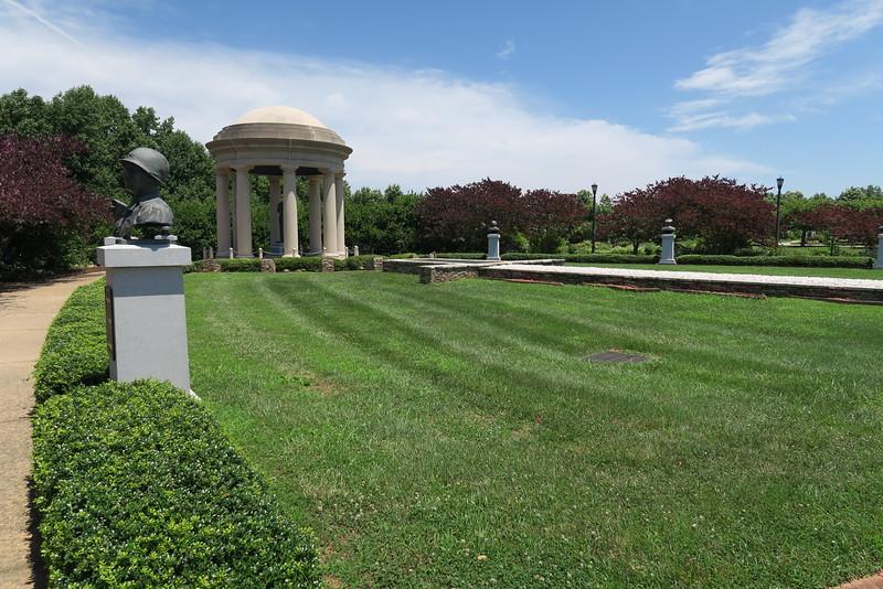 Reynolds Garden - Eisenhower's Chief Subordinates