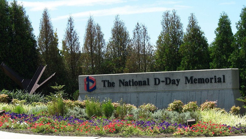 National D-Day Memorial Entrance