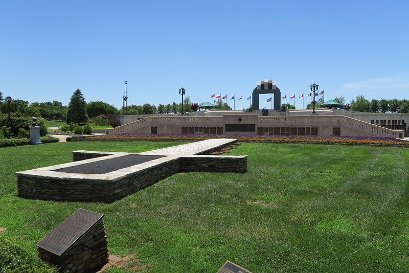 D-Day Memorial from Reynolds Garden