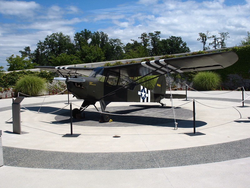Allied Plane - This plane was not actually used in the Normandy invasion but represents the Allied air forces that took place in the invasion.